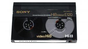 Hi8 und Video 8 auf DVD