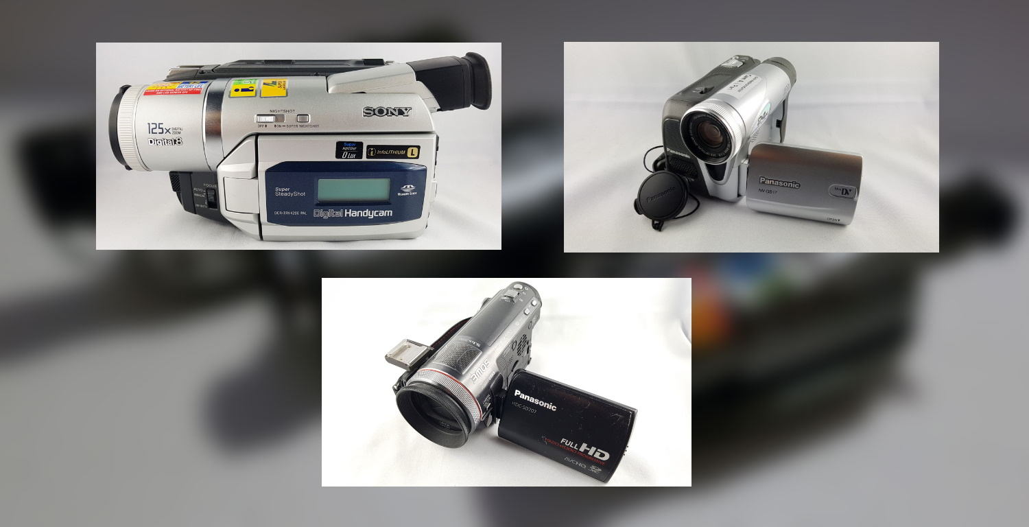 Kamera-Verleih: Hi8, Video 8, Digital8, MiniDV, HDV & HD
