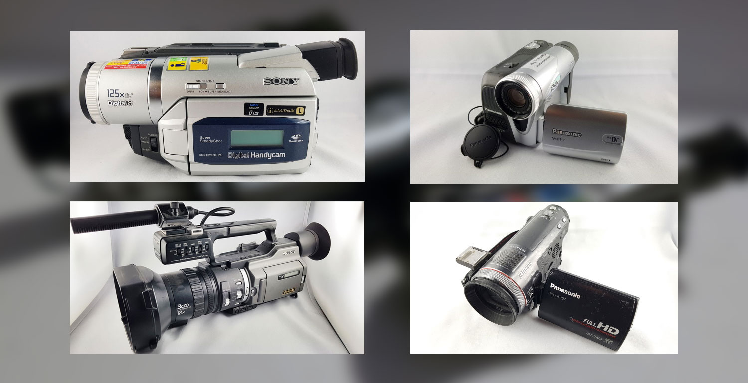 Camcorder-Verleih: Hi8, Video 8, Digital8, MiniDV, DVCAM & HD