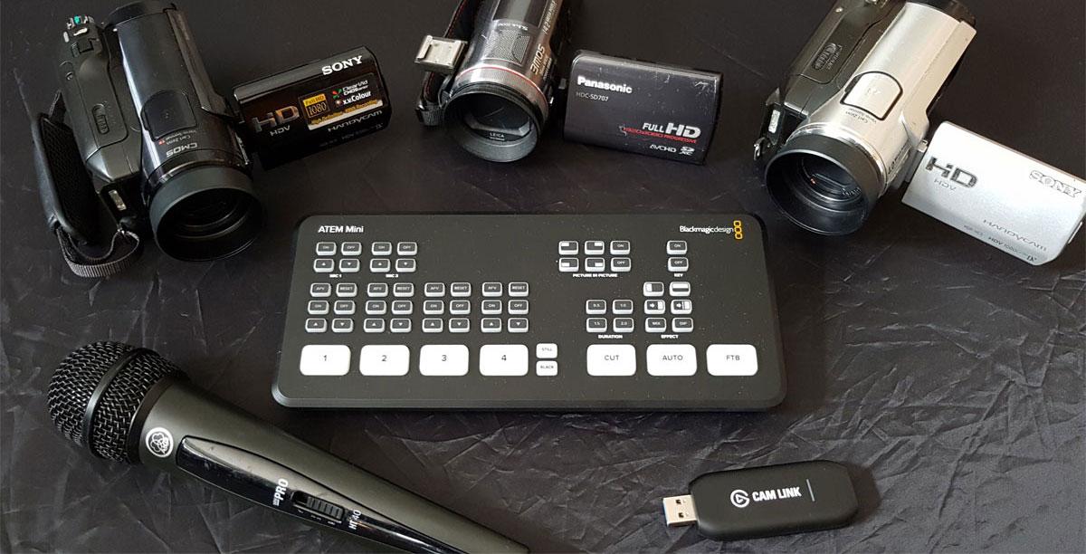 Technik und Support für Streaming und Aufzeichnung