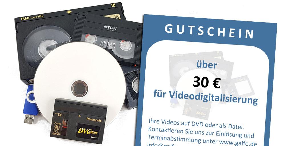 Videos digitalisieren/überspielen - auf DVD oder als Datei